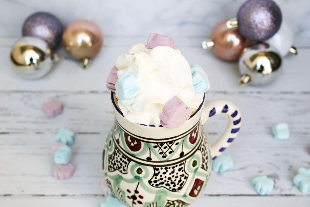 top view frozen inspired latte 1
