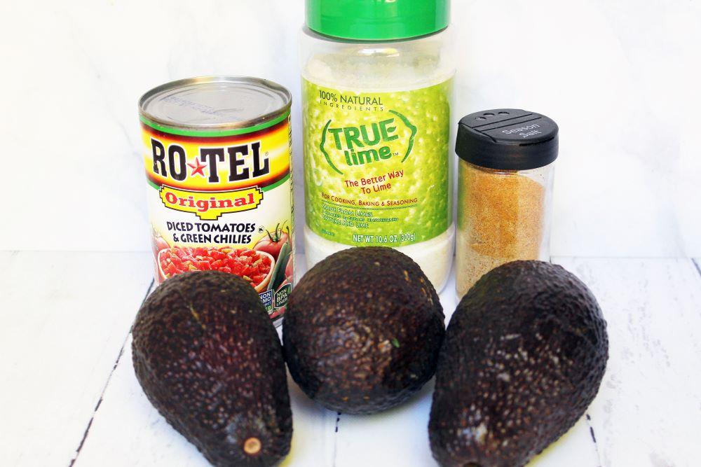 Guacamole no onion ingredients 1