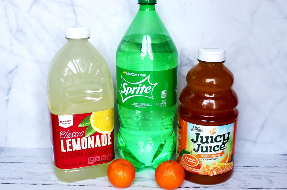 easy lemonade party punch ingredients 1