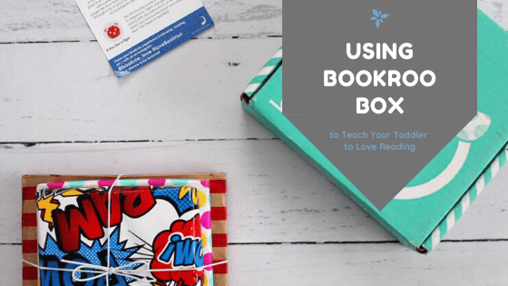 Using Bookroo to Teach Your Toddler to Love Reading