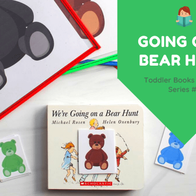 We're Going on a Bear Hunt Book and Bear Match (Toddler Books & Crafts Series)