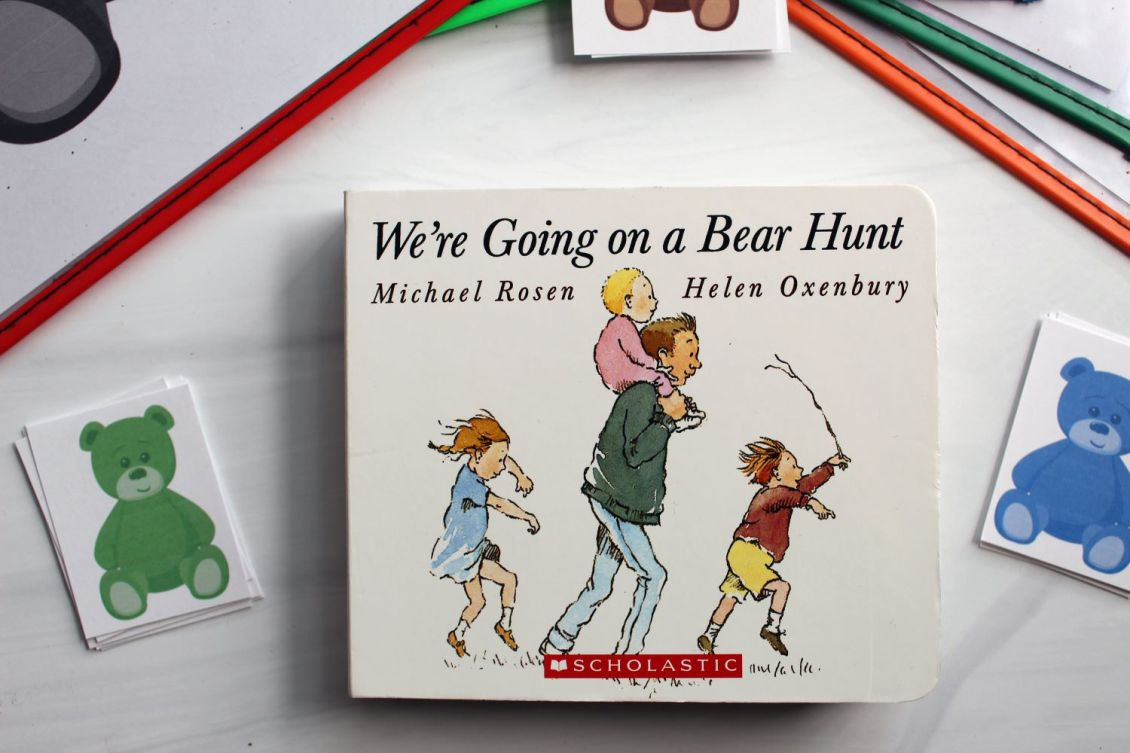 going on a bear hunt book 1