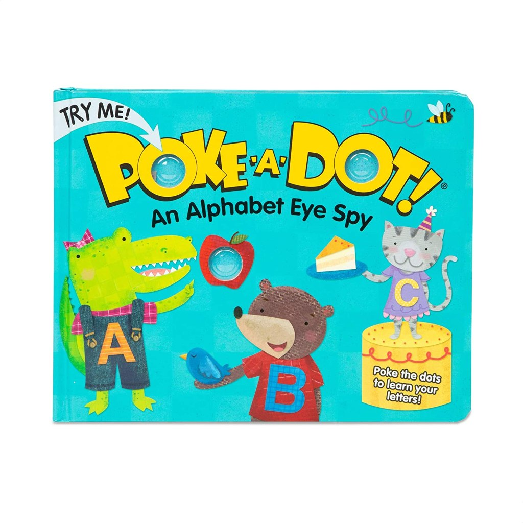 poke a dot book for learning abcs