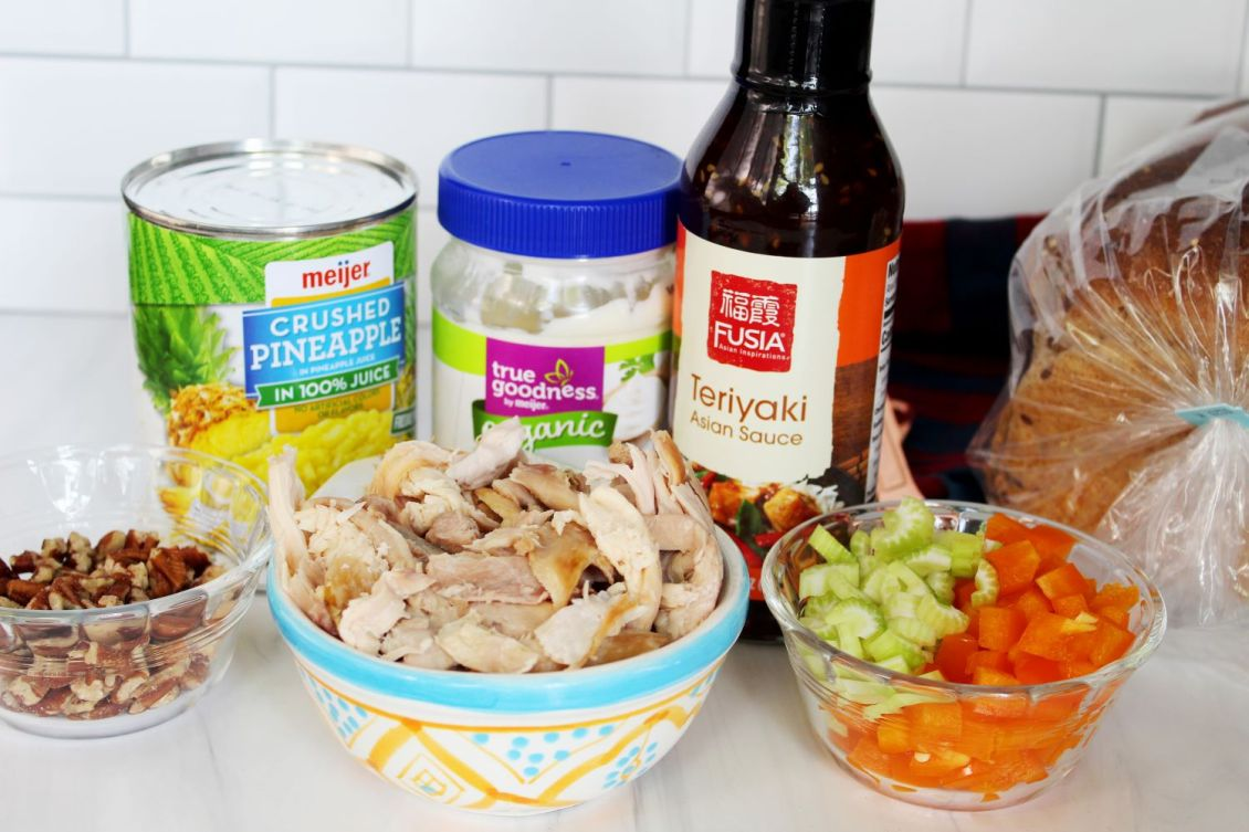 teriyaki chicken salad ingredients 1