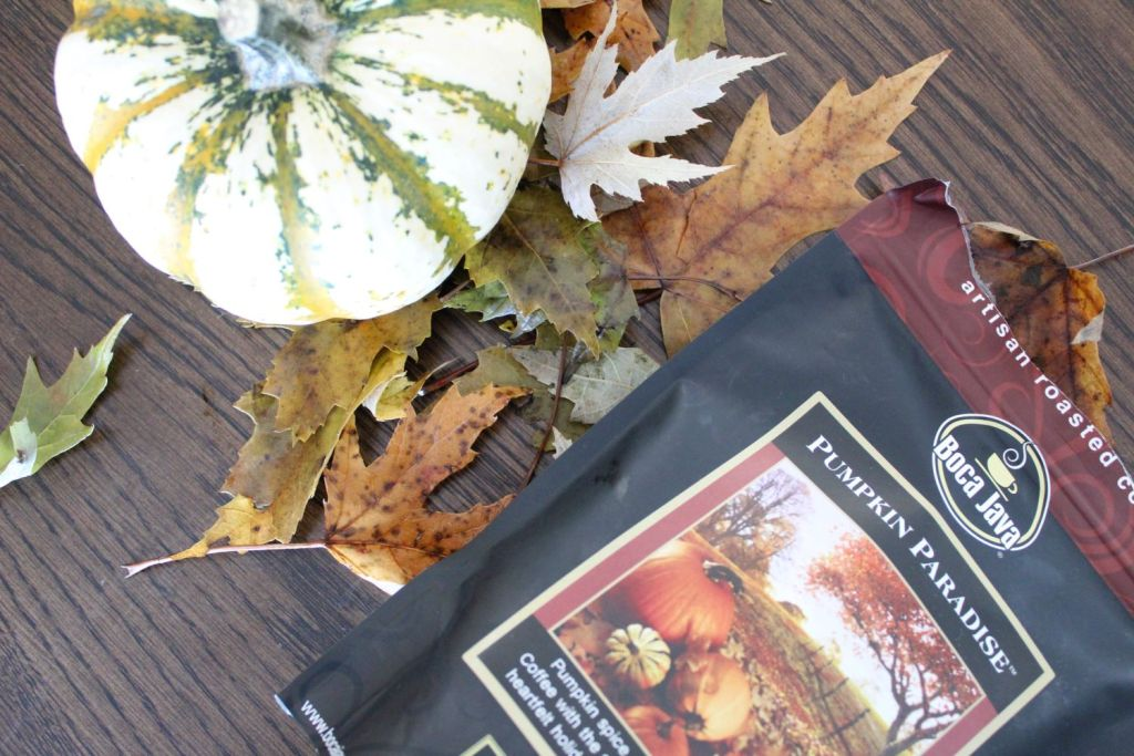 pumpkin spice boca java coffee