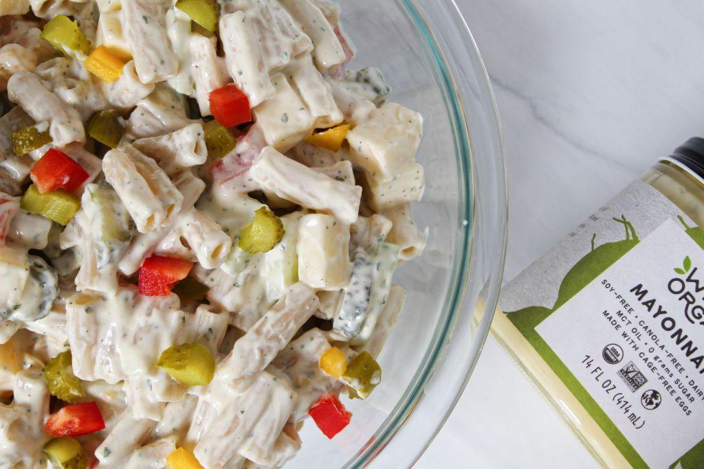 Creamy Ranch Pasta Salad 1600