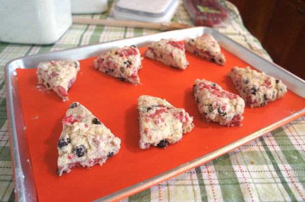scones pre baked