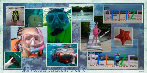 Sergeant's Caye Snorkel & Beach Break