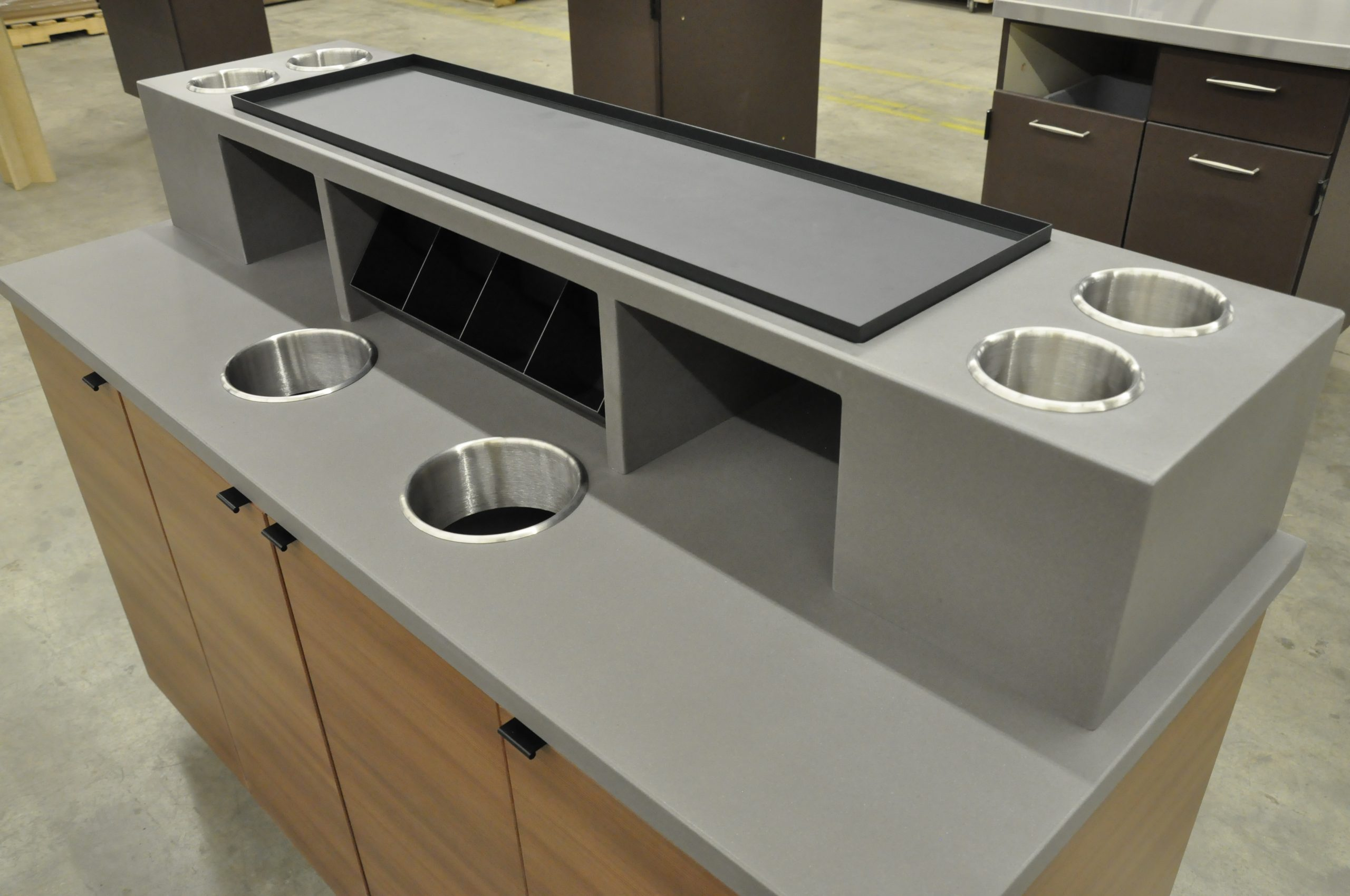 Custom Solid Surface & Food Grade Fixtures