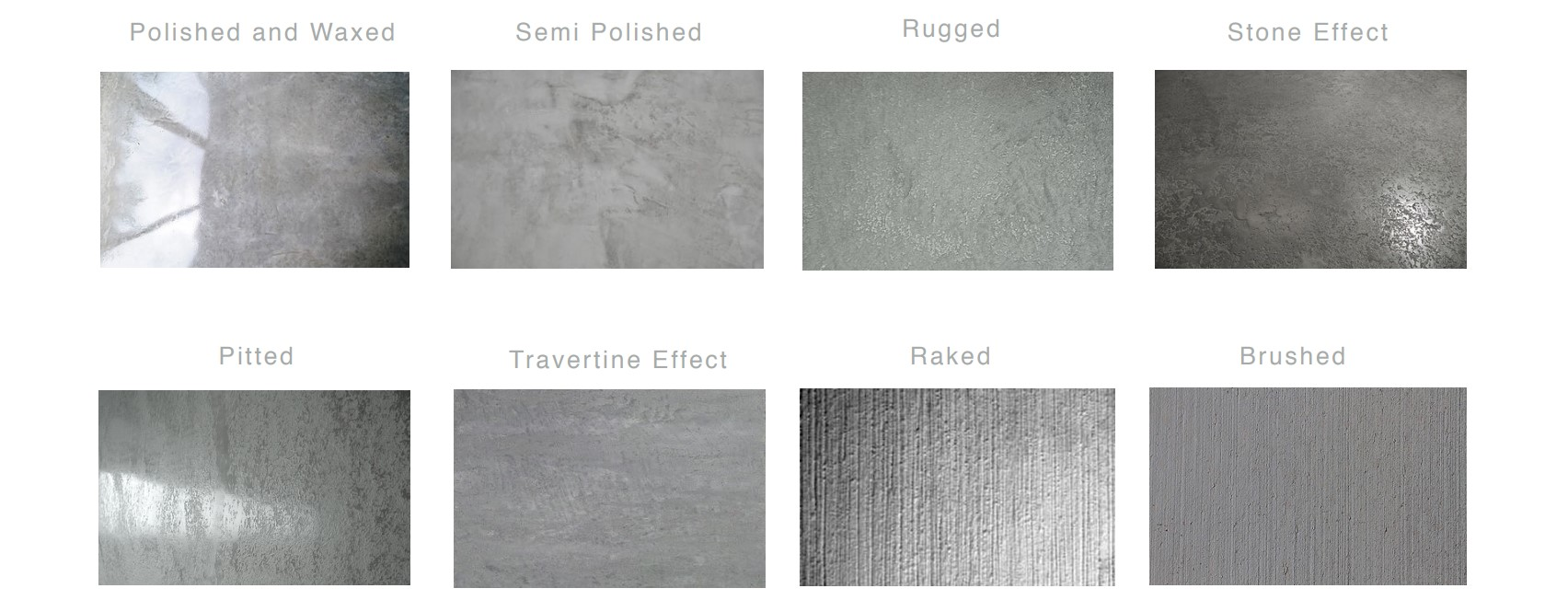 Microcement - Finishes 2