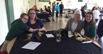 7th grade grandparent mass may 13 2016 bishop ludden 16 - 7th Grade Grandparent Mass May 13, 2016