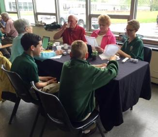 7th grade grandparent mass may 13 2016 bishop ludden 18 - 7th Grade Grandparent Mass May 13, 2016