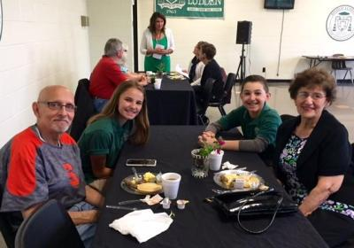 7th grade grandparent mass may 13 2016 bishop ludden 4 - 7th Grade Grandparent Mass May 13, 2016