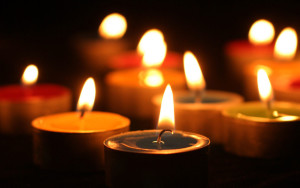 All Souls Day Candles 300x188 - Memorial Page