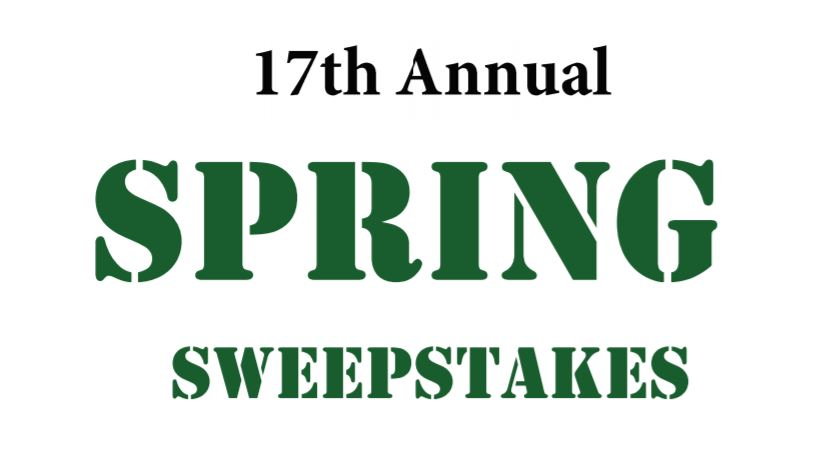 17th Annual Spring Sweepstakes