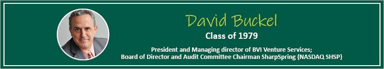 David Buckel Tease - Alumni Spotlight