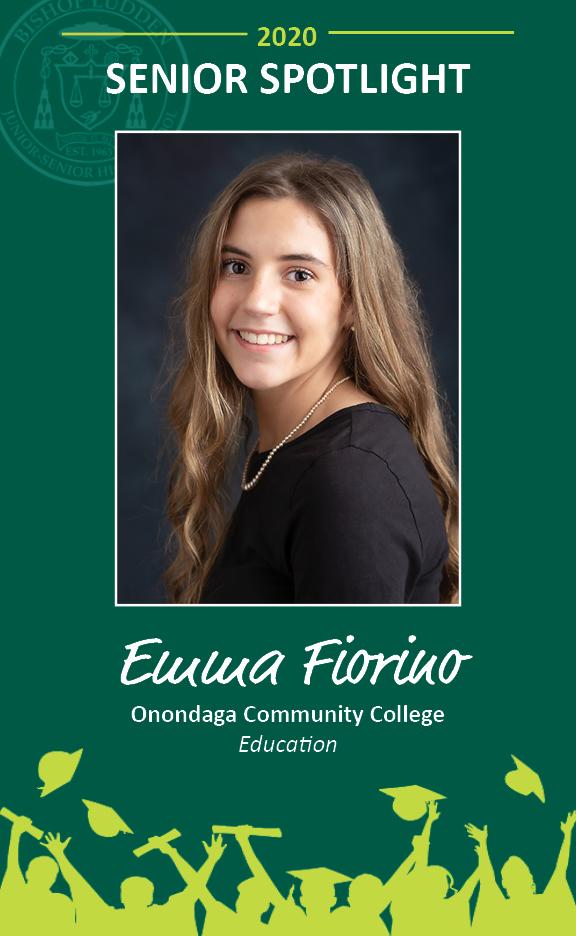 Emma Fiorino - Congratulations Graduates
