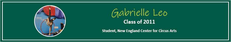 Gabby Leo Tease - Alumni Spotlight