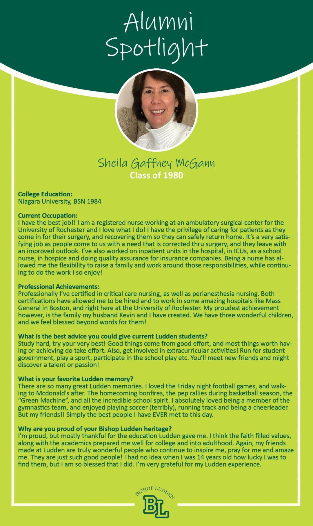 Gaffney McGann 80 scaled - Alumni Spotlight
