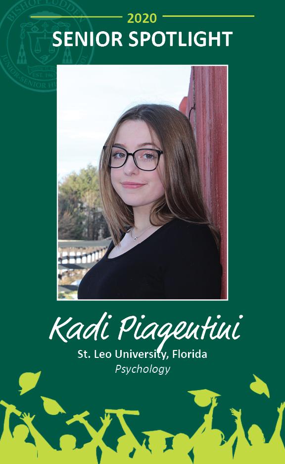 Kadi Piagentini - Congratulations Graduates