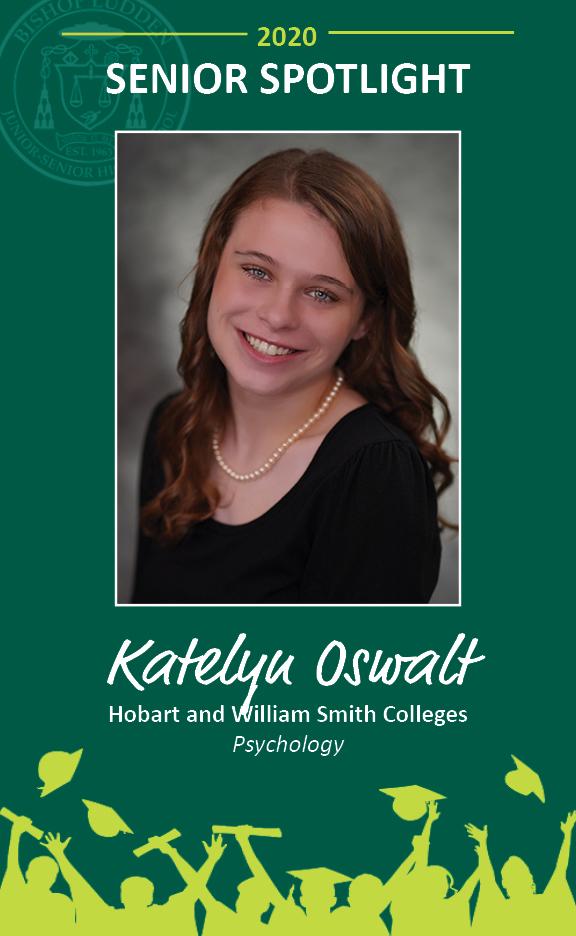 Katelyn Oswalt - Congratulations Graduates