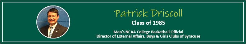 Patrick Driscoll Tease - Alumni Spotlight