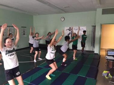 Physical Education Yoga Unit bishop ludden 1 - Physical Education - Yoga Unit
