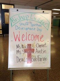 Staff Spiritual Day 6 - Staff Spiritual Day