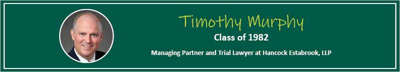Tim Murphy Tease - Alumni Spotlight