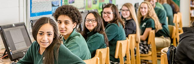 admissions bishop ludden catholic school syracuse - Faith & Service