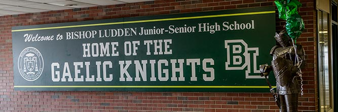 athletics bishop ludden catholic high school syracuse - gaelic-knight-logo