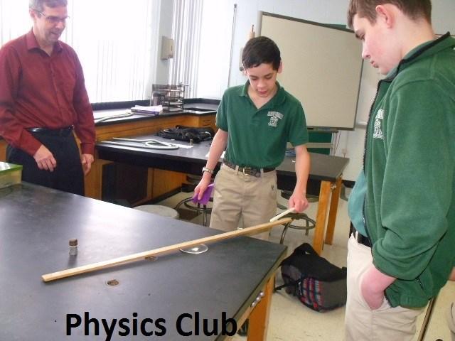 bishop-ludden-Physics Club and Robotics fun science club