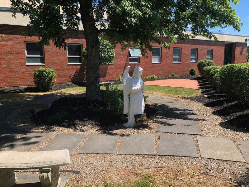 bishop-ludden-brick-memory-garden