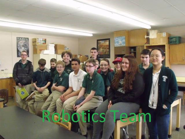 bishop ludden robotics club members - Robotics