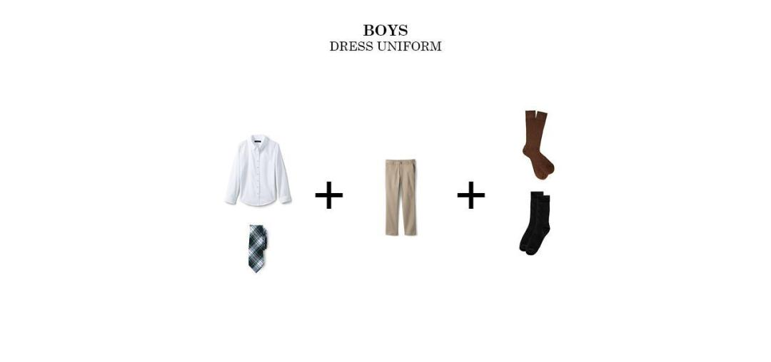 boys regular uniform bishop ludden dress - Uniform & Dress Code