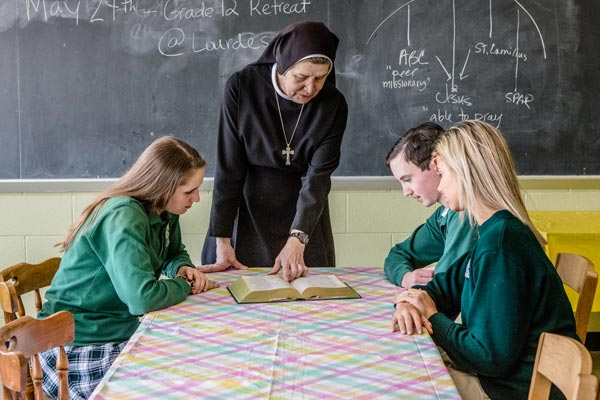 why give donation to bishop ludden catholic high school - Why Give?