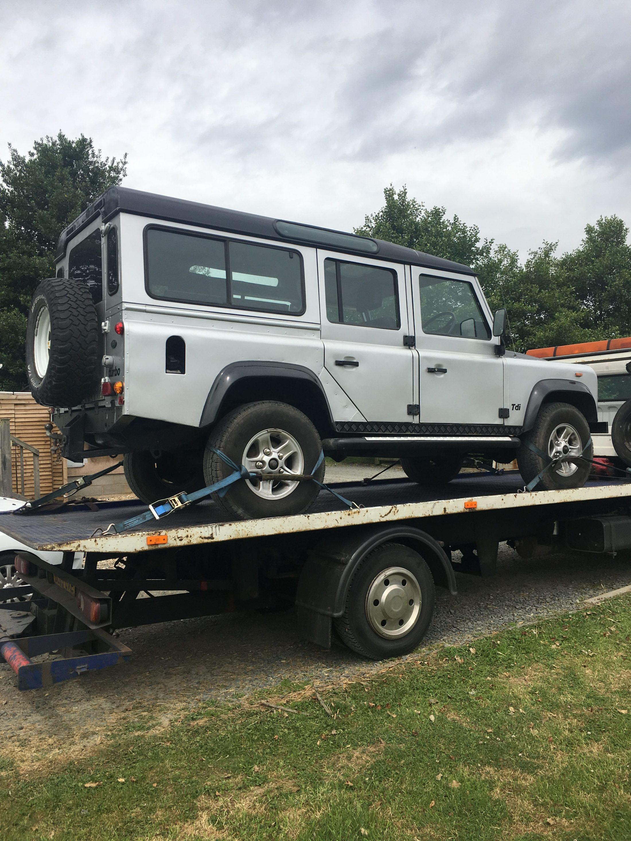 Importing a Classic Land Rover Defender Part I Bishop Rook