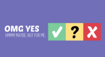 OMG yes, not for me, hmmm. A yes no maybe guide for working out what sex you might want.