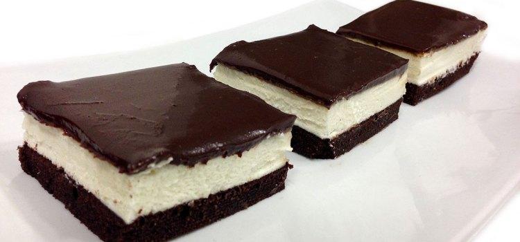עוגת שכבות קצפת ושוקולד