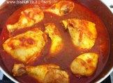 עוף עם תפוחי אדמה ודלעת - בישול העוף