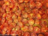 פסטה עם עגבניות שרי בתנור - לאחר צלייה בתנור