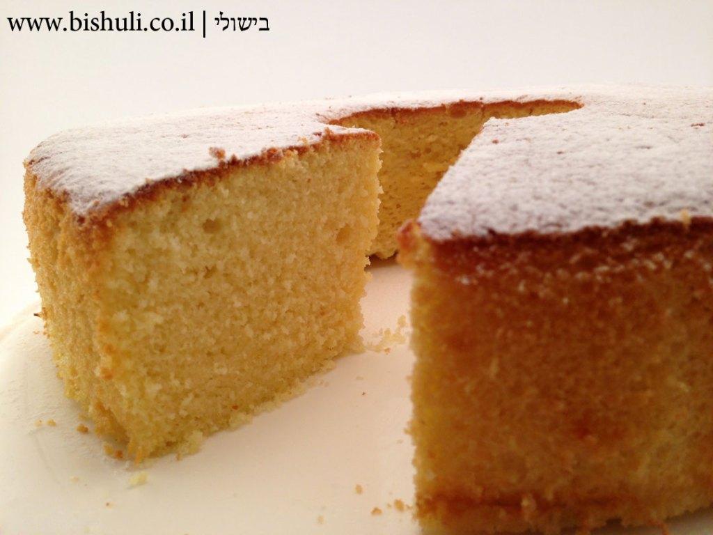 עוגת לימון - אוורירית במיוחד