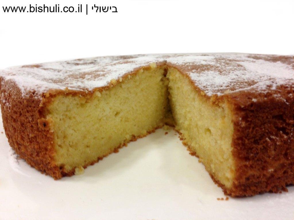 עוגת תפוזים חמה מהתנור
