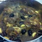 תבשיל עוף בבצל - סיום הבישול