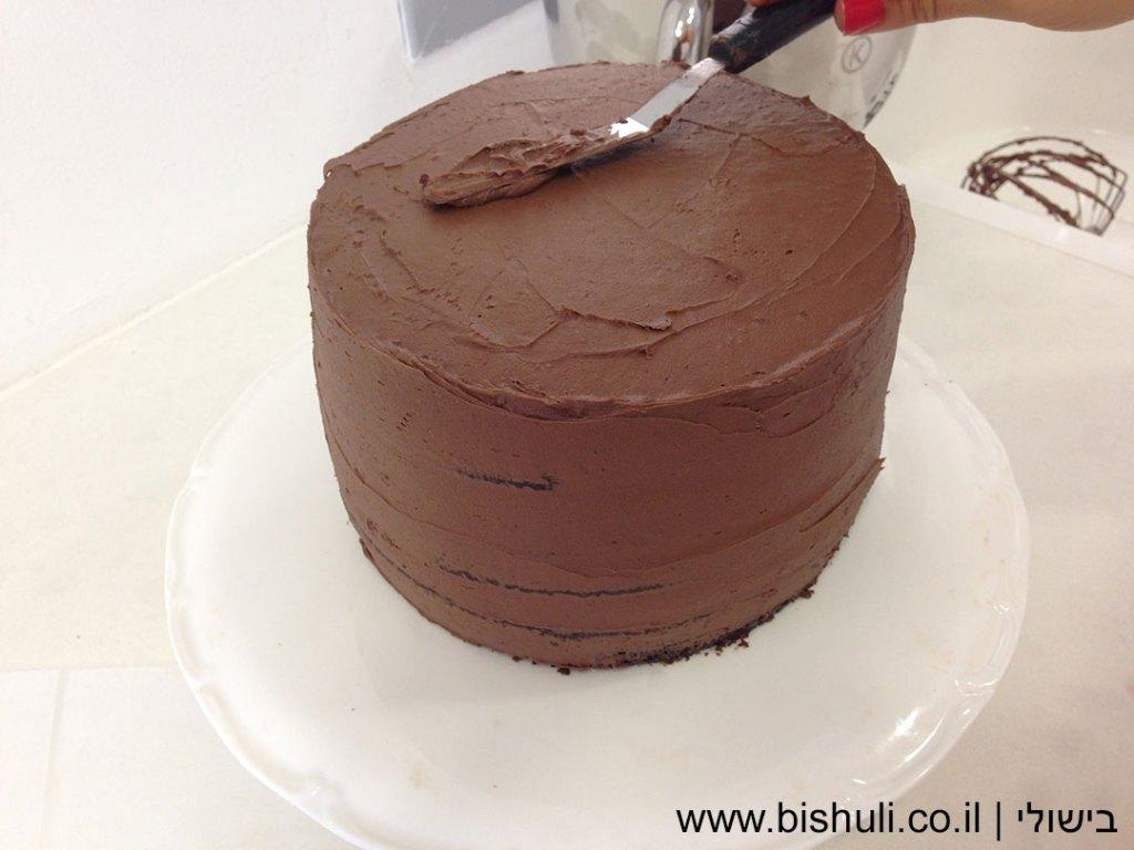ציפוי שוקולד פרווה - ציפוי שוקולד לאחר הקצפה