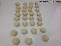 סמבוסק - הכנת כדורי הבצק 2