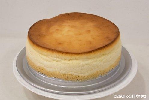עוגת גבינה אפויה - לאחר קירור