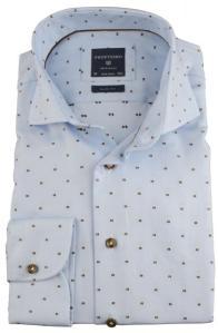Vrolijke witte blouse