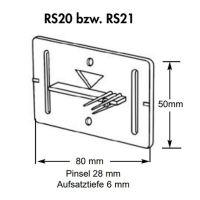 Plaquette de mesure – (RS21) – blanc