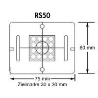 Plaquette de mesure – (RS50) – rouge